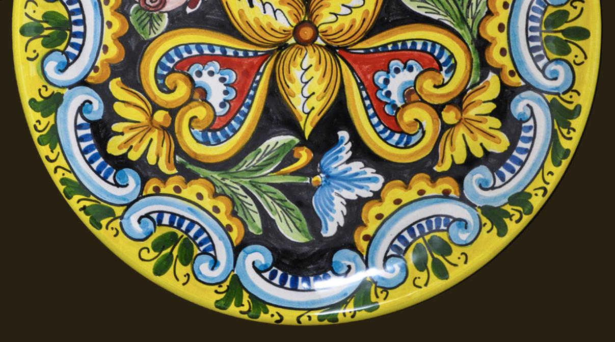 Oggetti Ceramica Di Caltagirone.La Marchesa Ceramiche Artistiche Di Caltagirone Solo Made In Italy